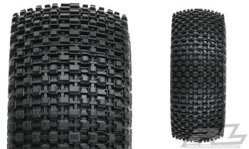 Pro-Line Gladiator SC Tires w/Raid Wheels (Black) (2) (Slash Rear) (M2) w/12mm Hex (PRO1169-10)