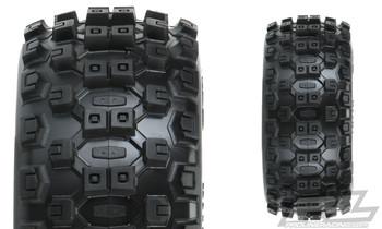 Pro-Line Badlands MX SC Tires w/Raid Wheels (Black) (2) (Slash Front) (M2) w/12mm Hex