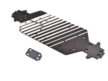 JQ Racing BLACK eCar 3mm Chassis (JQE0108)