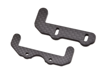 JQ Racing BLACK eCar Carbon Battery Lower Holders (JQE0119)