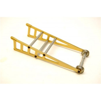 ST Racing Concepts Traxxas Slash Aluminum Adjustable Wheelie Bar Kit (Gold) (ST3678WD)