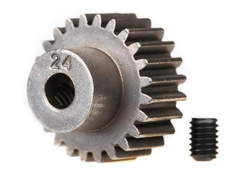 Traxxas 48P Pinion Gear w/Set Screw (3.17mm Bore) (24T) (TRA2424)