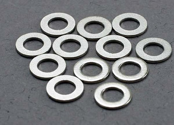 Traxxas 3x6mm Metal Washers (12) (TRA2746)