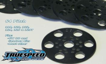 Custom Works Truespeed 64P Spur Gear (80T) (CSWTS6480)