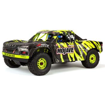 Arrma Mojave 6S BLX Brushless 1/7 RTR Electric 4WD RTR Desert Racer(Black/Green) w/STX2 2.4GHz Radio