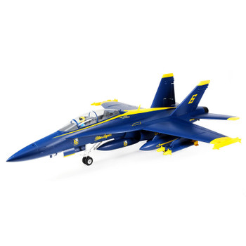 E-flite Blue Angels F-18 Hornet 80mm BNF Basic EDF Jet (980mm) w/AS3X & SAFE Technology