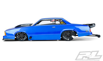 Pro-Line 1978 Chevrolet Malibu No Prep Drag Racing Body (Clear) (PRO3549-00)