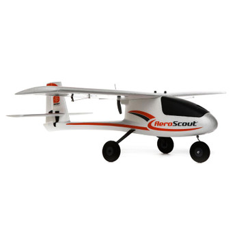 HobbyZone AeroScout S 1.1m RTF Trainer Electric Airplane (1095mm) w/SAFE