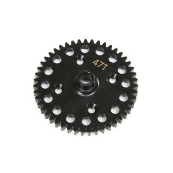 Team Losi Racing 8ight-X Center Diff 47T Spur Gear Lightweight (TLR342022)