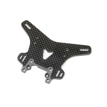 Team Losi Racing 8XT Carbon Front Shock Tower (TLR344049)