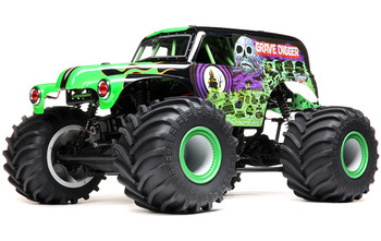 LMT 4WD Solid Axle Monster Truck RTR, Grave Digger Edition (LOS04021T1)