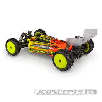 JConcepts F2 Light Weight Clear Body For TLR 22X-4
