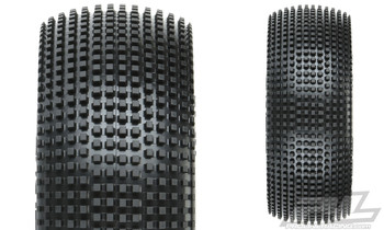 "Pro-Line Fugitive 2.2"" 4WD Buggy Front Tires (2) (M3) (PRO8296-02)"
