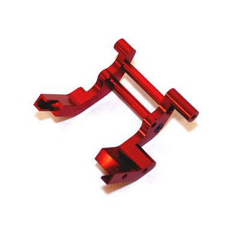 ST Racing Concepts Aluminum Rear Motor Guard (Red)