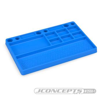 JConcepts Rubber Parts Tray (Blue) (JCO2550-1)