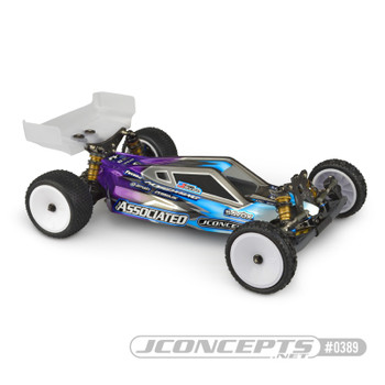 "JConcepts B6.1/B6.1D ""P2K"" Body w/6.5"" Aero Wing (Clear) (Light Weight)"