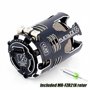 Muchmore FLETA ZX V2 17.5T ER Spec Brushless Motor (tuned by J. Pillars)