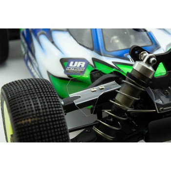 Ultimate Racing MBX8 Lexan Front Upper Arm Wing (2+2u)