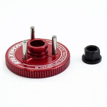Ultimate Racing Aluminum Compak Flywheel + Nut