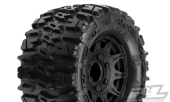 "PROLINE Trencher 2.8"" All Terrain Tires Mounted for Stampede 2wd & 4wd Front and Rear (PRO1170-10)"
