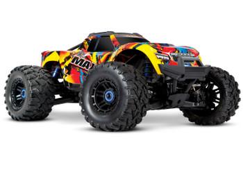Traxxas Maxx 1/10 Brushless RTR 4WD Monster Truck (Solar Flare) w/TQi 2.4GHz Radio & TSM