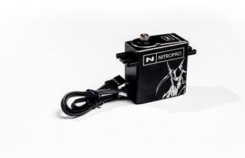 NitroPro Super-Torque Metal Case Brushless Servo (25T) (Tall)