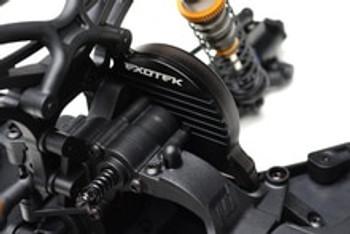 EXOTEK DEX/DESC/DEST210 FINNED 7075 ALUMINUM MOTOR MOUNT