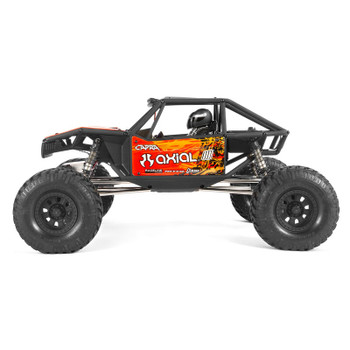 Axial 1/10 Capra 1.9 Unlimited 4WD Trail Buggy Brushed RTR, Red