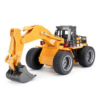 Huina 1530 2.4G 6CH RC Excavator w/Die Cast Bucket