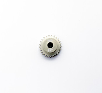 Assault RC Precision Aluminum Hardened 48P Pinion Gear (25T) (3mm Bore)