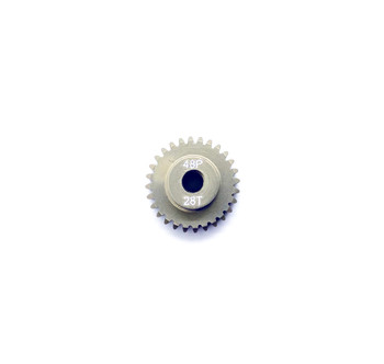 Assault RC Precision Aluminum Hardened 48P Pinion Gear (28T) (3mm Bore)