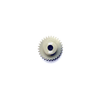 Assault RC Precision Aluminum Hardened 48P Pinion Gear (30T) (3mm Bore)