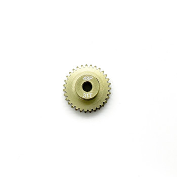 Assault RC Precision Aluminum Hardened 48P Pinion Gear (31T) (3mm Bore)