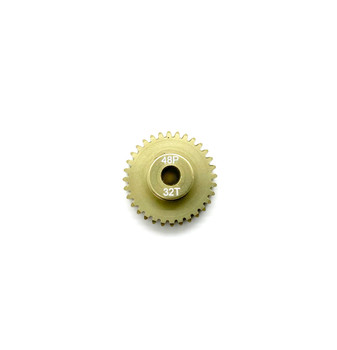 Assault RC Precision Aluminum Hardened 48P Pinion Gear (32T) (3mm Bore)