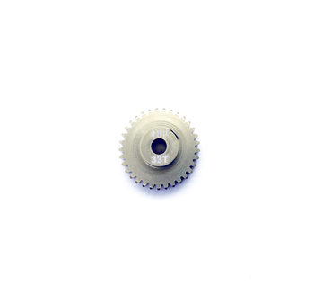 Assault RC Precision Aluminum Hardened 48P Pinion Gear (33T) (3mm Bore)