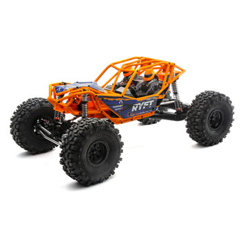 Axial 1/10 RBX10 Ryft 4WD Brushless Rock Bouncer (RTR) (Orange)