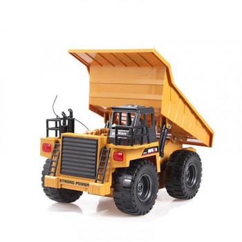 Huina 1540 1/18 2.4G 6CH RC Dump Truck W/Die Cast Cab