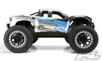 Pro-Line Pre-Cut 2017 Ford Raptor Clear Body for XMAXX