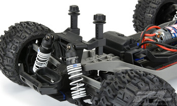 Pro-Line Extended Front and Rear Body Mounts for Rustler 4x4 (PRO6362-00)