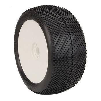 AKA EVO Gridiron 1/8 Truggy Pre-Mounted Tires (2) (Wight) (Soft - Long Wear) (AKA14113XRW)