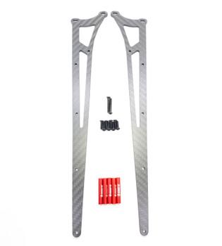 Assault RC Carbon Fiber Adjustable Street Eliminator Wheelie Bar (DR10) (Red) (ARC91203R)