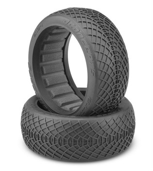 JConcepts Ellipse 1/8th Truggy Tires (2) (Aqua) (JCO3185-03)