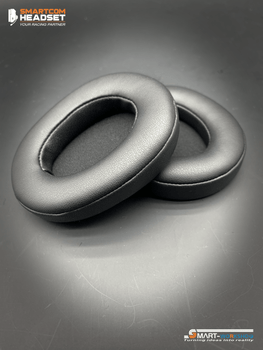 Smart-Com Headset PU Leatherette Earpad (2 pieces)