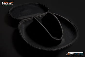 Smart-Com Headset Carrying Cases (Hard Case)