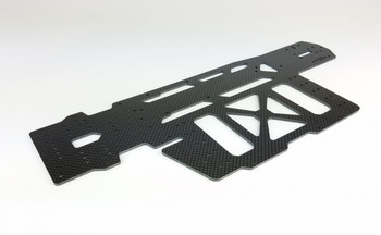 Custom Works RC Intimidator 7 Lightweight Carbon Fiber Chassis (CSW3531)