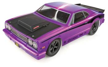 Team Associated DR10 RTR Brushless Drag Race Car Combo (Purple)Radio, DVC, Battery & Charger
