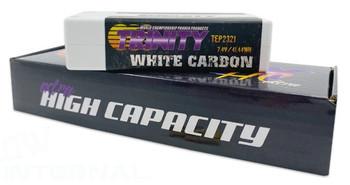 Trinity White Carbon 2S 7.4V 5600MAH 130C SHORTY W/5MM B.