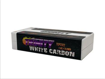 Trinity White Carbon 7.4V 4300MAH 130C Shorty W/ 5MM B.