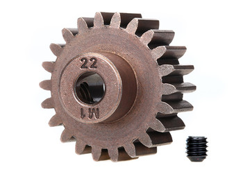 Traxxas 22-T Mod 1 pinion (1.0 MP) (fits 5mm shaft) (TRA6495X)