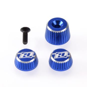 Revolution Design M17 Dial & Nut Set (Blue)